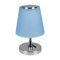 Ernyős asztali LED lámpa (5W) kék - természetes fényű