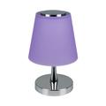 Ernyős asztali LED lámpa (5W) lila - természetes fényű