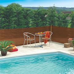Szőtt árnyékoló háló 80%-os takarás, EXTRANET (1x10 méter) barna