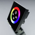 Fali RGB LED vezérlő (RGB04) - 144 Watt - fekete