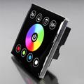 Fali RGBW LED vezérlő (RGBWZJ) - 192 Watt - fekete
