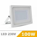 - AKCIÓ: Slim LED reflektor (100 Watt/100°) Fehér, Meleg fényű