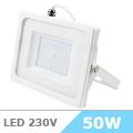 - AKCIÓ: Slim LED reflektor (50 Watt/100°) Fehér, Természetes f.