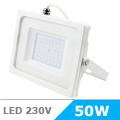 - AKCIÓ: Slim LED reflektor (50 Watt/100°) Fehér, Hideg fényű