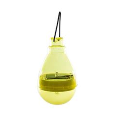 Firefly szolár függő LED lámpa - citromsárga