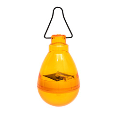 Firefly szolár függő LED lámpa - narancssárga