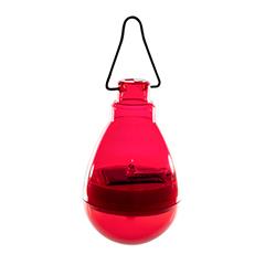 Firefly szolár függő LED lámpa - piros