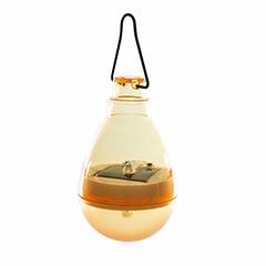 Firefly szolár függő LED lámpa - sárga