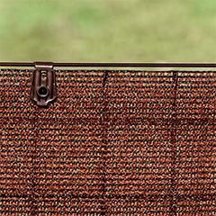 Rögzítő szőtt árnyékoló hálóhoz - FIXATEX kapocs (20 db) barna