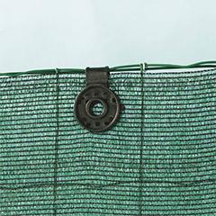 Rögzítő szőtt árnyékoló hálóhoz - FIXATEX klipsz (15 db) fekete