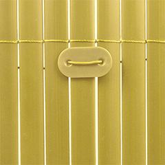 Rögzítő árnyékoló nádakhoz - FIXCANE műanyag lap+huzal (26 db) natúr