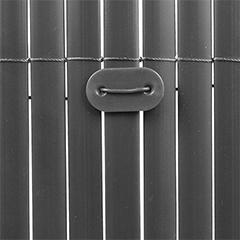 Rögzítő árnyékoló nádakhoz - FIXCANE műanyag lap+huzal (26 db) szürke