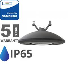 Függeszthető utcai LED lámpa (100W/12000lm) Samsung Chip, természetes fehér