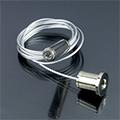 Tartó-, rögzítő elem Lumines profilhoz, függesztődrót