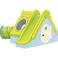 Funtivity playhouse műanyag kerti játékház - világos zöld - jégkék