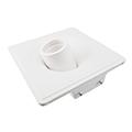 Gipsz spot lámpatest (White) süllyeszthető, billenthető