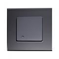 Glass Mikrohullámú mozgásérzékelő szerelvénydobozba, fekete