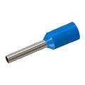 Érvéghüvely 2.5 mm2 vezetékekhez, kék (100db/csomag)