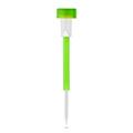 Zöld, kerti szolár LED lámpa