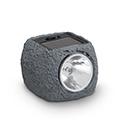 Kő alakú, kerti szolár LED lámpa