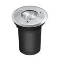 GU5.3 foglalatú talajba építhető lámpa (105) szatén nikkel