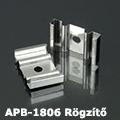 APB-1806 Hajlítható alu U profil ezüst - rögzítő elem, fém