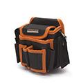 Szerszámtartó övtáska, övre rögzíthető szerszámos táska (15x18x10 cm)