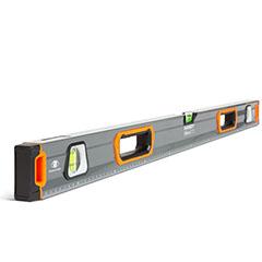 Vízmérték vonalzóval, tükörlibellával (1m)