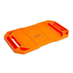 Gumi szerszámos tálca fogantyúval (53x29,5x3,5cm) narancssárga
