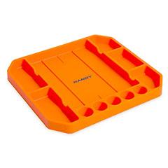 Gumi szerszámos tálca vonalzóval (26x23,5x2,5cm) narancssárga