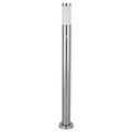 Inox Torch kültéri álló lámpa (E27) rozsdamentes acél, mozg. érz., 110 cm