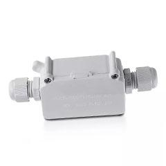 LED reflektorhoz vízmentes kötődoboz, fehér IP65