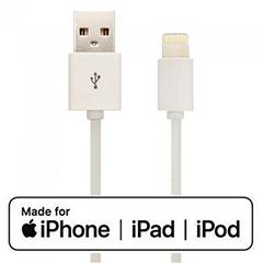 Apple MFi tanúsítványos USB Lighting kábel (1.5 méter) fehér