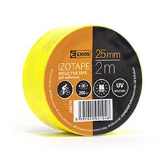 Fényvisszaverő szalag, öntapadós (25mm/2m) sárga