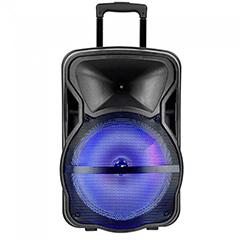 Karaoke görgős hangfal mikrofonnal (35 Watt) akkumulátor, RGB világítás V2
