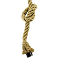 Kender kötél függőlámpa - 1.5 méter (E27)
