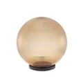 Gömb alakú kerti lámpa bura arany (250 mm) E27