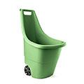 Easy go breeze műanyag kerti talicska 50L - rezeda zöld