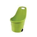 Easy go műanyag kerti talicska 55L - világos zöld