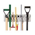 Hanging tool rack műanyag kerti szerszámtartó - szürke