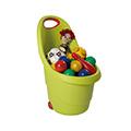 Kiddie's go műanyag gyerek talicska - világos zöld