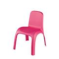 Kids chair műanyag gyerek szék - rózsaszín
