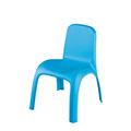Kids chair műanyag gyerek szék - világos kék