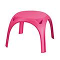 Kids table műanyag gyerek asztal - rózsaszín