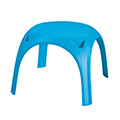 Kids table műanyag gyerek asztal - világos kék