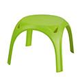 Kids table műanyag gyerek asztal - világos zöld