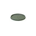 Piazza műanyag virágcserép alátét 24 cm (5 db/csomag) - márványzöld