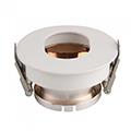 Kör alakú spot lámpatest (3163), billenthető, fehér-rose gold