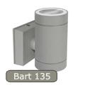 Bart EL-135 kültéri lámpa GU10 foglalattal