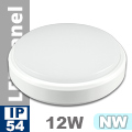 Kültéri opál mennyezeti LED lámpa kör (12 Watt) - term. fehér